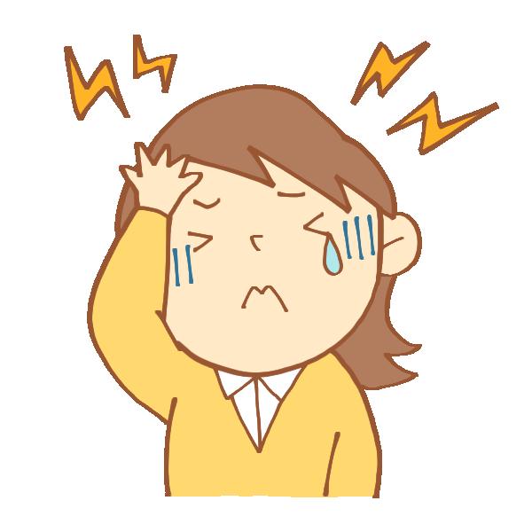 気圧の変化と頭痛の関係!
